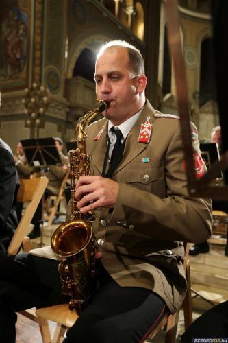 Katonazenekar adott koncertet a Szent Gellért Fesztiválon