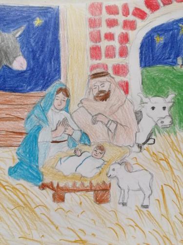 Mintegy 100 alkotás érkezett a Szent Miklós Plébánia rajzpályázatára