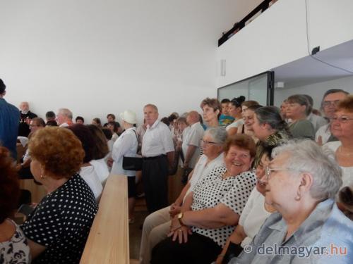 777 év után ismét van temploma Derekegyháznak