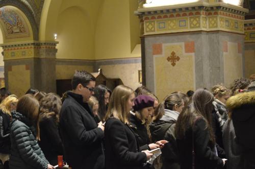 A Szegedi Katolikus Egyetemi Lelkészség esti szentmiséje (2019.03.10.)