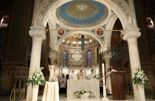 Húsvétvasárnapi szentmise a Dómban