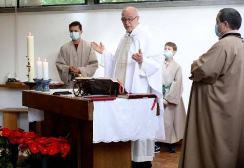Édesanyákról szólt a vasárnapi szentmise a Szent Gellért-templomban