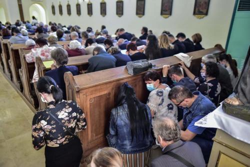 Megáldotta a püspök Ópusztaszer felújított templomát