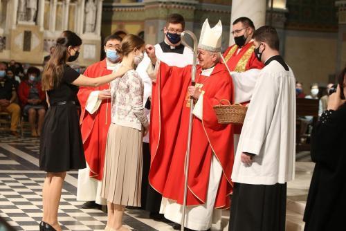 A Szentlélek kiáradását ünnepeltük a Dómban