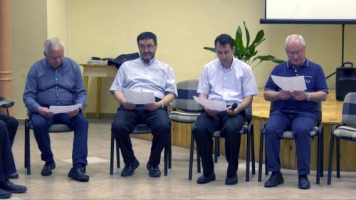 Egyházmegyei papi találkozó Gyulán 2020. június 17.